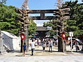 Hakozaki-gu Houjyoya ,Hakata 筥崎宮 放生会 - panoramio (1).jpg