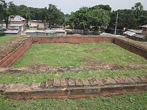 Halud Vihara - Remains of Halud Vihara