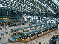 Hamburg airport terminal 2