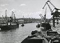 Hammarbyhamnen mot väst 1949.jpg