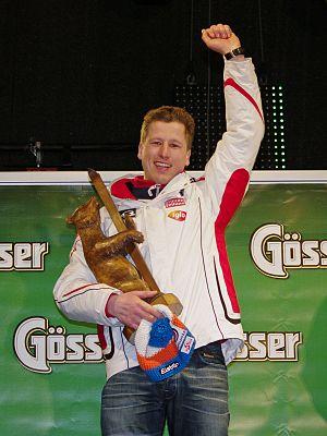 Hannes Reichelt - Victory at Hinterstoder Super G in February 2011