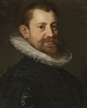 Adriaen de Vries - Portrait by Hans von Aachen
