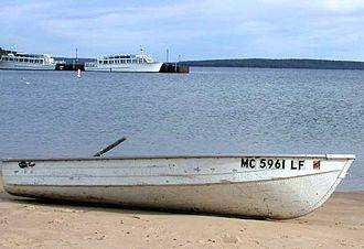 Munising, Michigan - Munising harbor