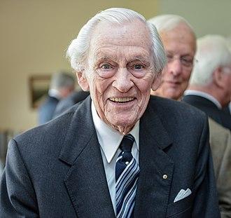 Reinhard Hardegen - Hardegen at the age of 103