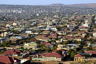 Hargeisa - A residential area in Hargeisa.
