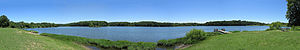 A. W. Marion State Park - Panorama Hargus Lake
