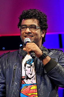 Haricharan performing at an event