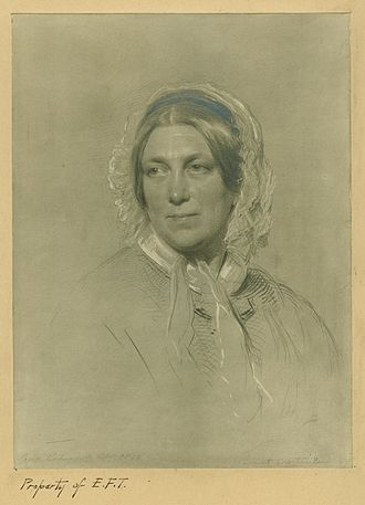 Harriet Martineau - Martineau in her later years, painted by George Richmond