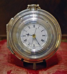 photograph of the H5 chronometer