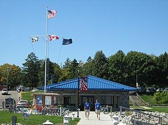 Harrisville, Michigan - Harrisville Harbor, Labor Day Weekend 2007