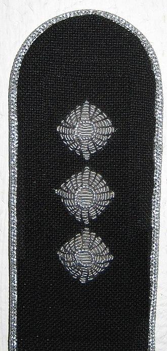 Rank insignia of the German Bundeswehr - Image: Hauptmann (Gesellschaftsanzug)