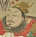 Head detail, Art Gallery of Greater Victoria - Buddhist Ten Judgements of Hell - 17th Century - detail 17 (20331927938) (cropped).jpg