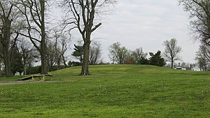 National Register of Historic Places listings in Mississippi County, Missouri - Image: Hearnes Site mound