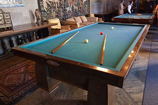 Carom billiards Billiards games played on cloth-covered pocketless tables