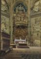 Heinrich Hermanns Inneres der Kathedrale von Burgos.png