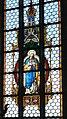 Hellmonsödt Pfarrkirche - Fenster 2 Herz mariens.jpg