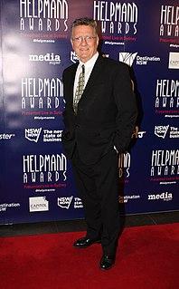 Graeme Blundell Australian actor, writer and film critic