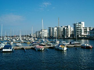 Helsingborg - Image: Helsingborg port