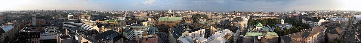 English: Helsinki PanoramaSuomi: Panoraamakuva HelsingistäSvenska: Panorama över Helsingfors