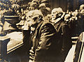 Henri La Fontaine et Ludwig Quidde Congrès universel de la paix, Berlin, 1924.jpg