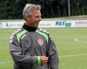 Henrik Jensen (footballer, born 1959) - Henrik Jensen coaching BK Frem on 18/7/12