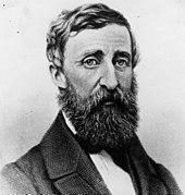 Ambrotype d'E. S. Dunshee réalisé en août 1861 d'Henry David Thoreau à la fin de sa vie.