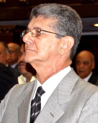 President of the National Assembly of Venezuela - Image: Henry Ramos Allup Portrait