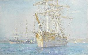 Henry Scott Tuke - Off Falmouth.jpg