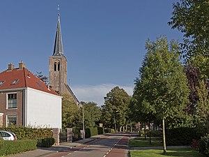 Hensbroek - Image: Hensbroek, de toren van de Hervormde kerk RM31217 foto 3 2015 10 12 16.06