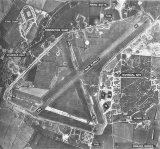 RAF Hethel airport in the United Kingdom