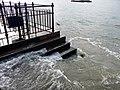 High Tide at Greenwich - geograph.org.uk - 1701478.jpg