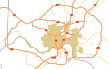 Cincinnati metropolitan area - Wikipedia on