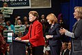 Hillary Clinton, Jeanne Shaheen, and Maggie Hassan in Nashua (15693336471).jpg