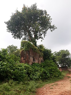 Rajnagar, Birbhum - Rajnagar Raj Palace in a ruined condition