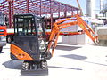 Hitachi ZAXIS14 mini excavator at Construct Expo Utilaje 2010.jpg