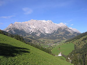 Berchtesgaden Alps - The Hochkönig from the south