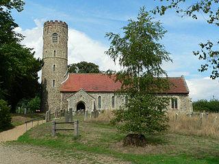 Holton, Suffolk village and civil parish in Suffolk, UK