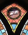 Holy Trinity Catholic Church (Somerset, Ohio) - stained glass, Sword of the Spirit.jpg