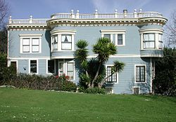 Home located along Duboce Park