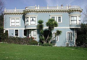 Duboce Park - Home along Duboce Park.