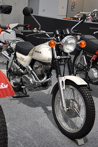 Honda CT series - Image: Honda CT250S Silkroad