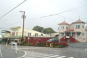 Honomu, Hawaii - Honomu during rainstorm, 2008