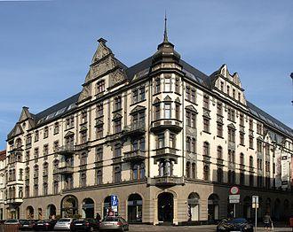 Hotel Monopol ul. Dworcowa Katowice 1.JPG