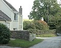 House and lane near Woodcombe Farm - geograph.org.uk - 1522170.jpg