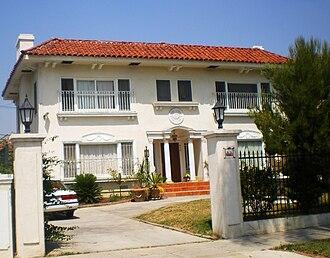 South Serrano Avenue Historic District - Image: House at 415 S. Serrano Avenue
