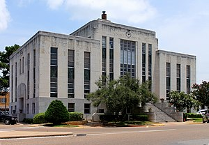 Houston County, Texas - Image: Houston County Court House 1