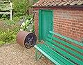 Hoveton Hall Gardens Garden Roller.JPG