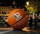 Huge ball at Vilnius center.jpg