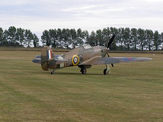 Lynn Garrison - Lynn Garrison's Hurricane, acquired in 1963, now flies in United Kingdom as G-HURI