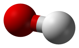 Ammonia solution - Image: Hydroxide 3D balls